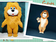 Inflatable Lion King Doll Suit Mascot Costume Suits Cosplay Party Game Outfits