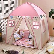 Love Tree Teepee Tent For Kids Play Tent Children Fort Canvas Canopy For In/outd