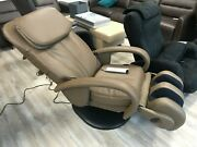 Human Touch Ht-125 Roller Massage Chair Recliner Showroom - Cashew Leather
