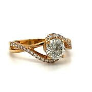 1.32ctw Engagement Ring Solitaire Ring H Color Si2 Clarity Watch Video