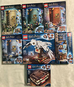 New Lot 7 Lego Harry Potter Sets Hogwarts Moments Hedwig Book Of Monsters + More