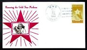 Uss Massey Dd-778 Gold Star Mothers Stamp 969 Crosby Naval Cover A6589