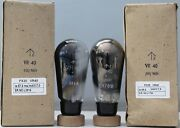 1mp Px25 Vr40 Osram Globe Dht Made In Gt.britain Tested On Avo 160 L3916andl1700