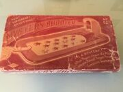 Wolverine Mystery Shooter Vintage Catapult Game Tin Litho Shooting Toy