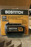 Bostitch 20-volt Max 4 Amp-hour Lithium Power Tool Battery Bcb204 New And Sealed