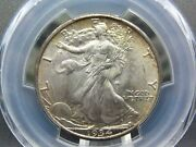 1934 P Walking Liberty Half Dollar 50c Pcgs Ms66 East Coast Coin And Collectable