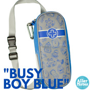 Allermates Kids Epipen Medicine Carrying Carry Case Busy Boy Blue