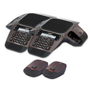 Vtech Vcs754 2 Pack Sip Conference Speakerphone With Orbitlink Wireless Mics