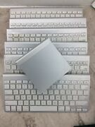 Mixed Lot Of 7 Apple White Usb Keyboard For Parts A1314 A1255 A1339