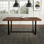 Dining Room Table Large Kitchen Table Rustic Farmhouse Solid Wood Dining Table