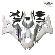 Injection White Silver Mold Fairing Fit For Yamaha 2017 2018 Yzf R6 Abs L001
