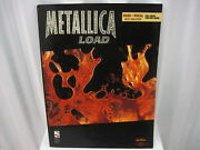 Metallica Load Bass Tab Tablature Vocal Sheet Music Song Book Songbook