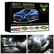 White Led Interior Lights Package 2018-2022 Mitsubishi Eclipse Cross 3014 Series