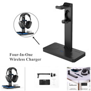 4in1 Wireless Charger Multi-function Mobile Phone Watch Headset Holder Universal