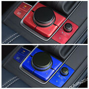 Gear Box Panel And Engine Start Stop Push Button Cover For Mazda Cx-30 2020 2021