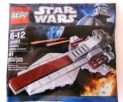Lego Star Wars Republic Attack Cruiser Ship 30053 Build Your Army Poly New