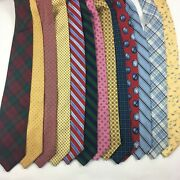 Brooks Brothers Barneys Silk Tie Lot Of 13 Mix Of 346 And Makers
