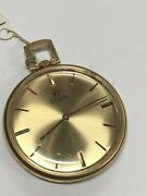 Elgin Pocket Watch Gold Colored - 40.7 Grams Gs