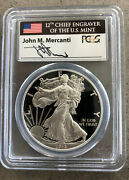 2013-w 1 1oz. Silver Eagle Dcam Pcgs Proof 70, First Strike, Mercanti Signed