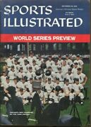 Chicago White Sox 1959 Sports Illustrated No Label Newstand 9/28 Ws Champs 70030