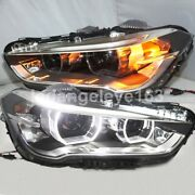Led Front Lamps For Bmw X1 E84 Led Angel Eyes Head Lights 2016 Year Ld