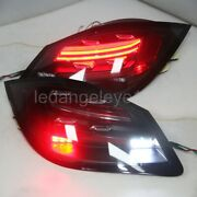 Smoke Black Led Rear Lights For Porsche Cayenne Led Taillights 2011-2014 Year Sn
