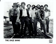 1981 Vintage Photo Motown Records Group The Dazz Band Members Poses For Portrait