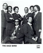 1981 Vintage Photo The Dazz Band Poses For Studio Portrait For Motown Records