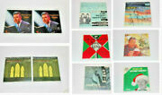 Lot Of 11 Collectible 45 Rpm Empty Cardboard Sleeves For 7andrdquo Vinyl Records