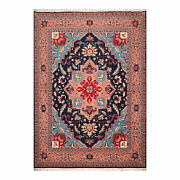 9and0391and039and039 X 12and039 Hand Knotted Wool Pakpersian Herizz 300 Kpsi Oriental Area Rug Navy