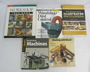 Woodshop Dust Control Woodworking Machines Working With Wood Book Lot Of 5