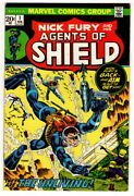 Nick Fury And His Agents Of Shield, 1, 1972 Vintage Marvel Comic, Higher Grade