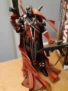 Spawn 12 Delux Action Figure🤘 Issue 7 Cover Art. Box Signed By Mcfarlane