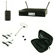 Shure Wireless Bodypack System Blx14r And Osp Hs09 Black Earset Headset Mic