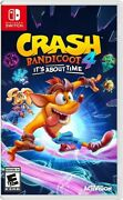 Crash 4 It's About Time For Nintendo Switch [new Video Game]