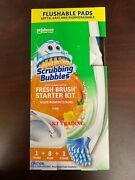 Scrubbing Bubbles Toilet Bathroom Biodegradable Cleaning System Starter Kit