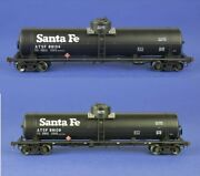 American Limited Ho Scale Gatc Tank Car Atsf Reclaimed Fuel Lot Of 2 1825/1826