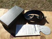 Vintage 1974 Stemaco Nsn 8465-01-004-2893 Sun Wind Dust Military Goggles 2 Lens