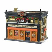 Dept 56 Christmas In The City Otto's Harley Tavern 4042393 Dealer Stock-new