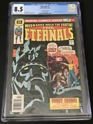 The Eternals 1 Cgc 8.5 Vf+ 30 Cent Variant 1st Appearance