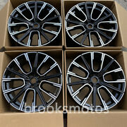 21 Black Style Wheels Rims Fits For Bmw 2017+ 6 Series Gt 2016+ 7 Series 817