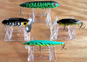 Adjustable 3 Part 2 Display Stand Easel Holder Fishing Lures Pick Quantity