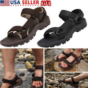 Mens Athletic Sandals Arch Support Comfort Hiking Climbing Summer Beach Sandals