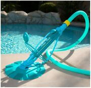 75037 Climb Wall Pool Cleaner Automatic Suction Vacuum-generic, Blue