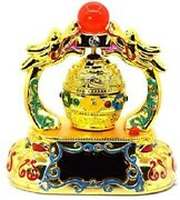 Tibetan Prayer Wheel Is Powered By Solar Energy And Place It On A Sunlight Car