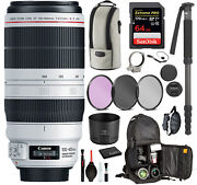 Canon Ef 100-400mm F/4.5-5.6l Is Ii Usm Lens 9524b002 With Professional