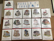 The Americana Collection Liberty Falls 16 Piece Lot Plus Pewter Figurines