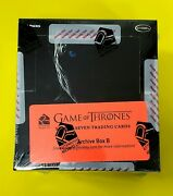 2018 Rittenhouse Game Of Thrones Season 7 Factory Sealed Archive Box Both A And B