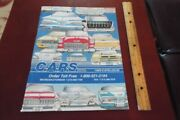 1989 Cars Inc Catalog Canadian American Restoration Supply Classic Chevy Parts