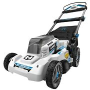 Electric Lawn Mower Cordless Brushless Self Propelled Lawn Mower With Battery